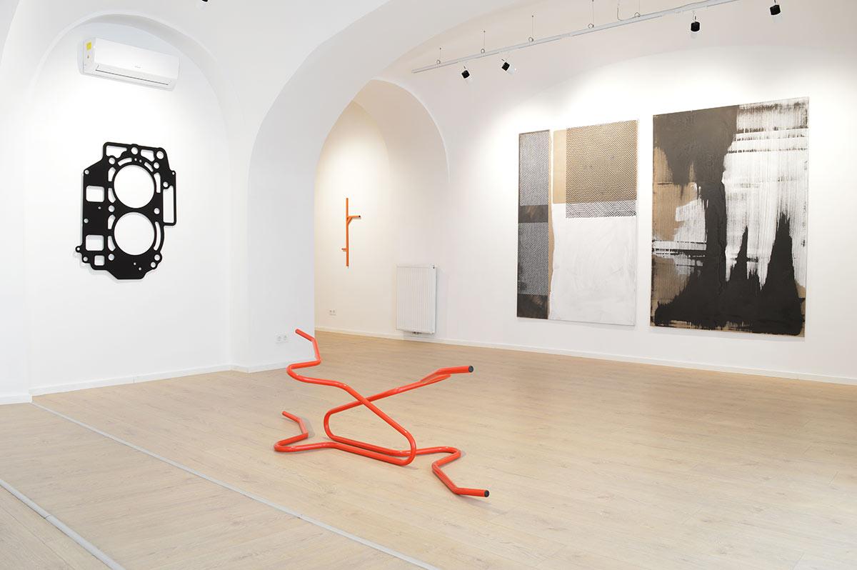 exhibition view, art, vienna, 2021, munchies art club, contemporary painting