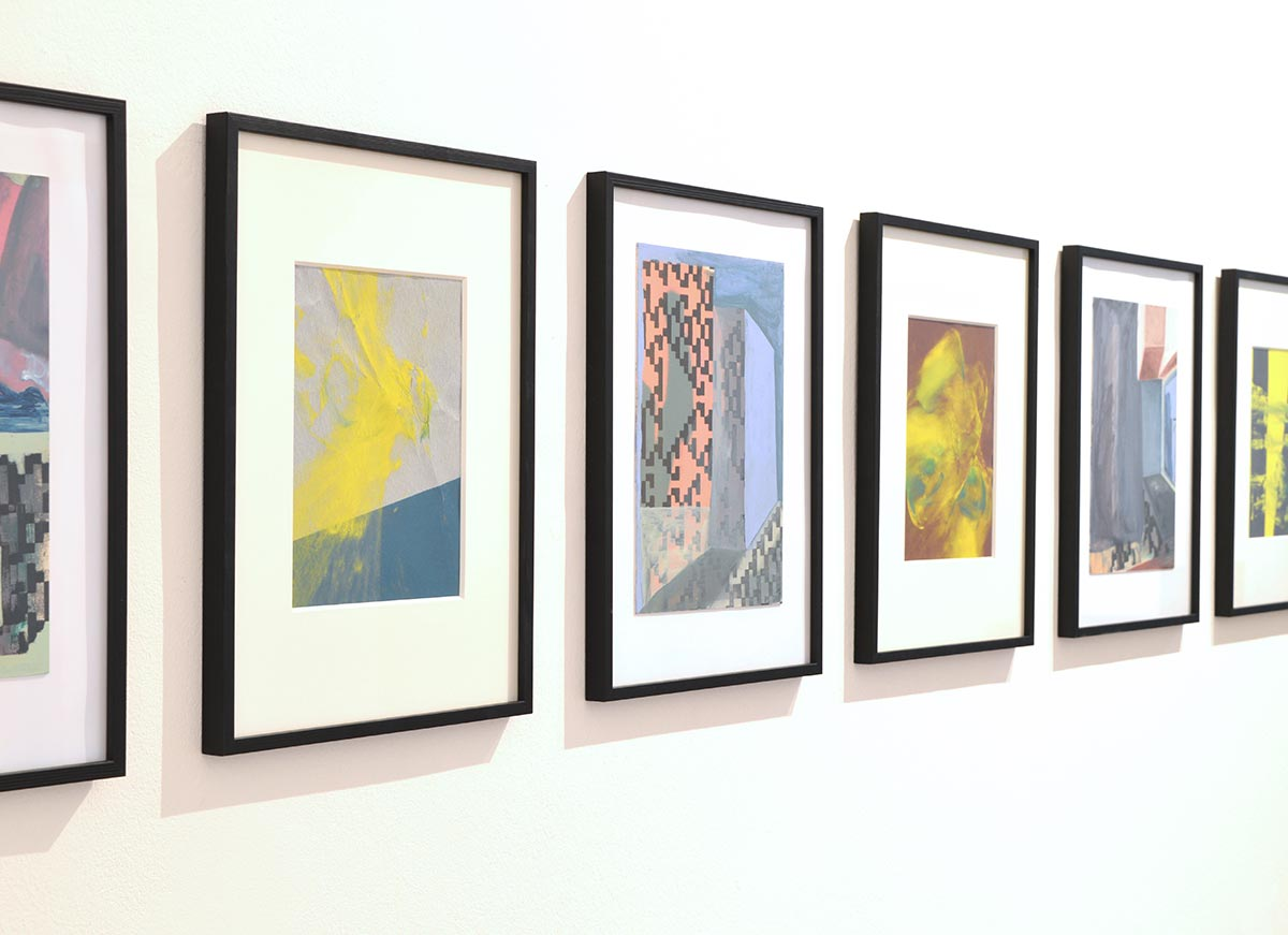 works on paper, contemporary art, desiderio gallery