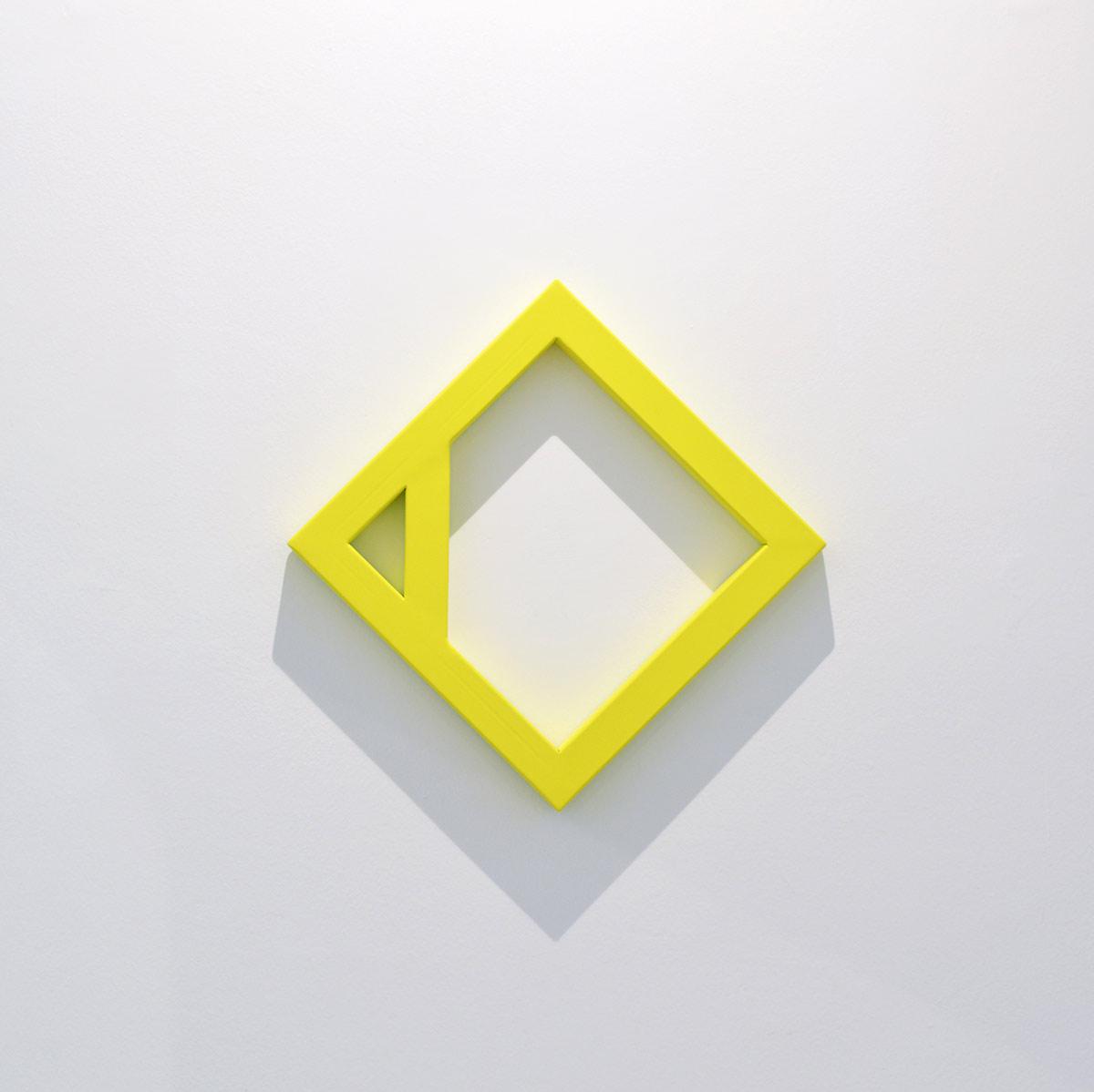 yellow, sculpture, viewing room, Emanuel Ehgartner