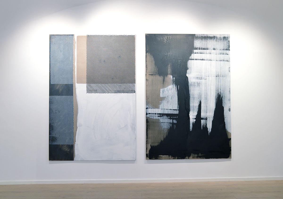 christian murzek, contemporary art, exhibition view, painting