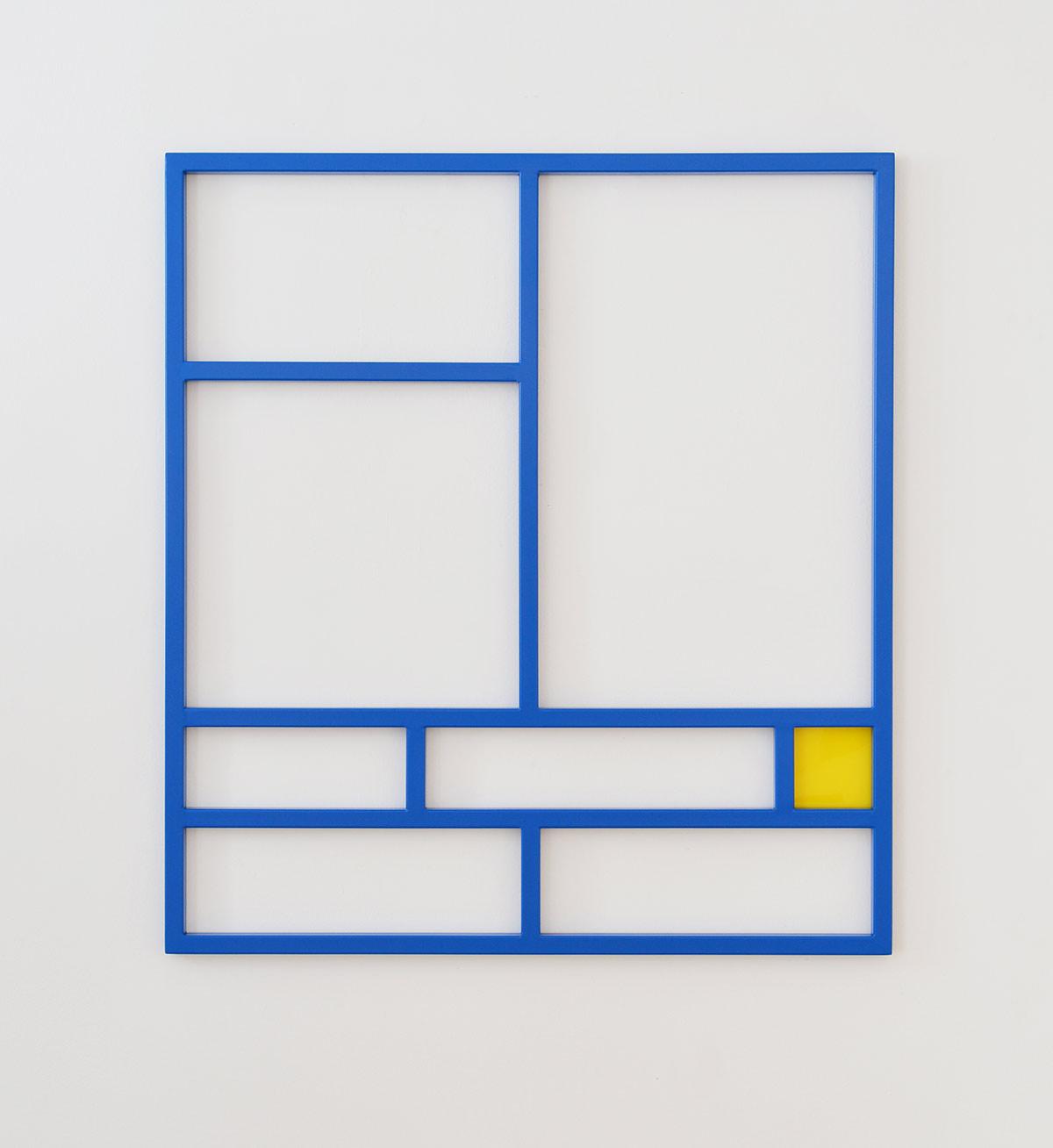le mans, artwork, emanuel ehgartner, minimal, contemporary artist, 2021, blue