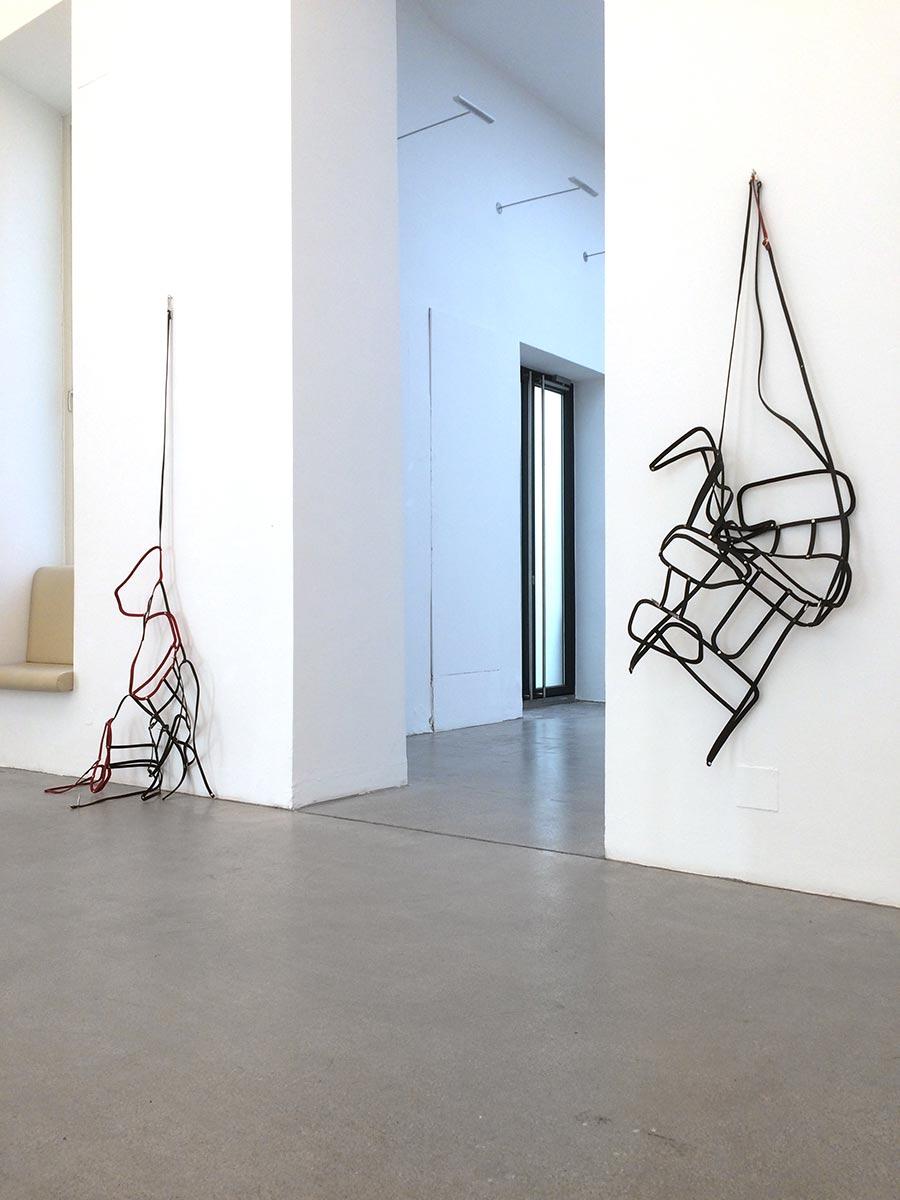 klaus pamminger, raum mit licht, installation view, artgallery, viewing room, munchies art club