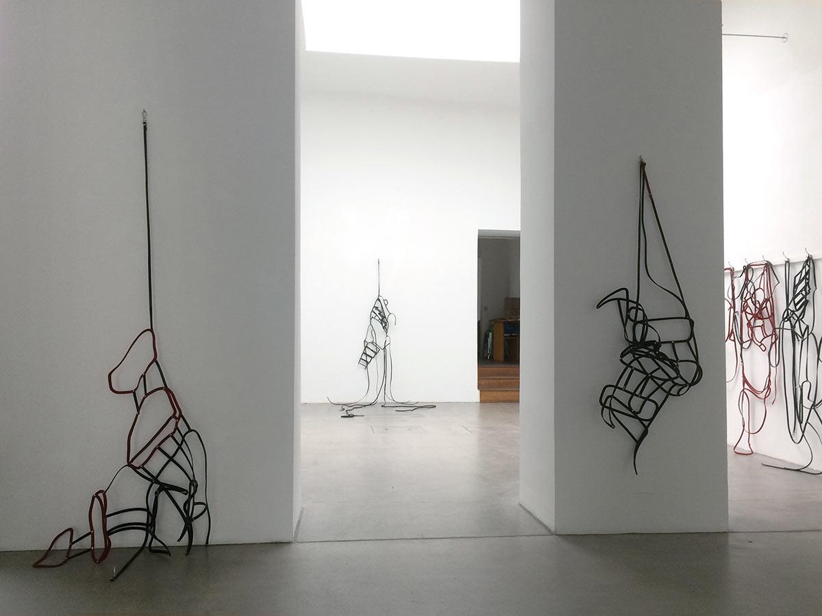 klaus pamminger, artist, domino, exhibition, view, art installation, art gallery, Raum mit Licht, munchies art club, viewing room