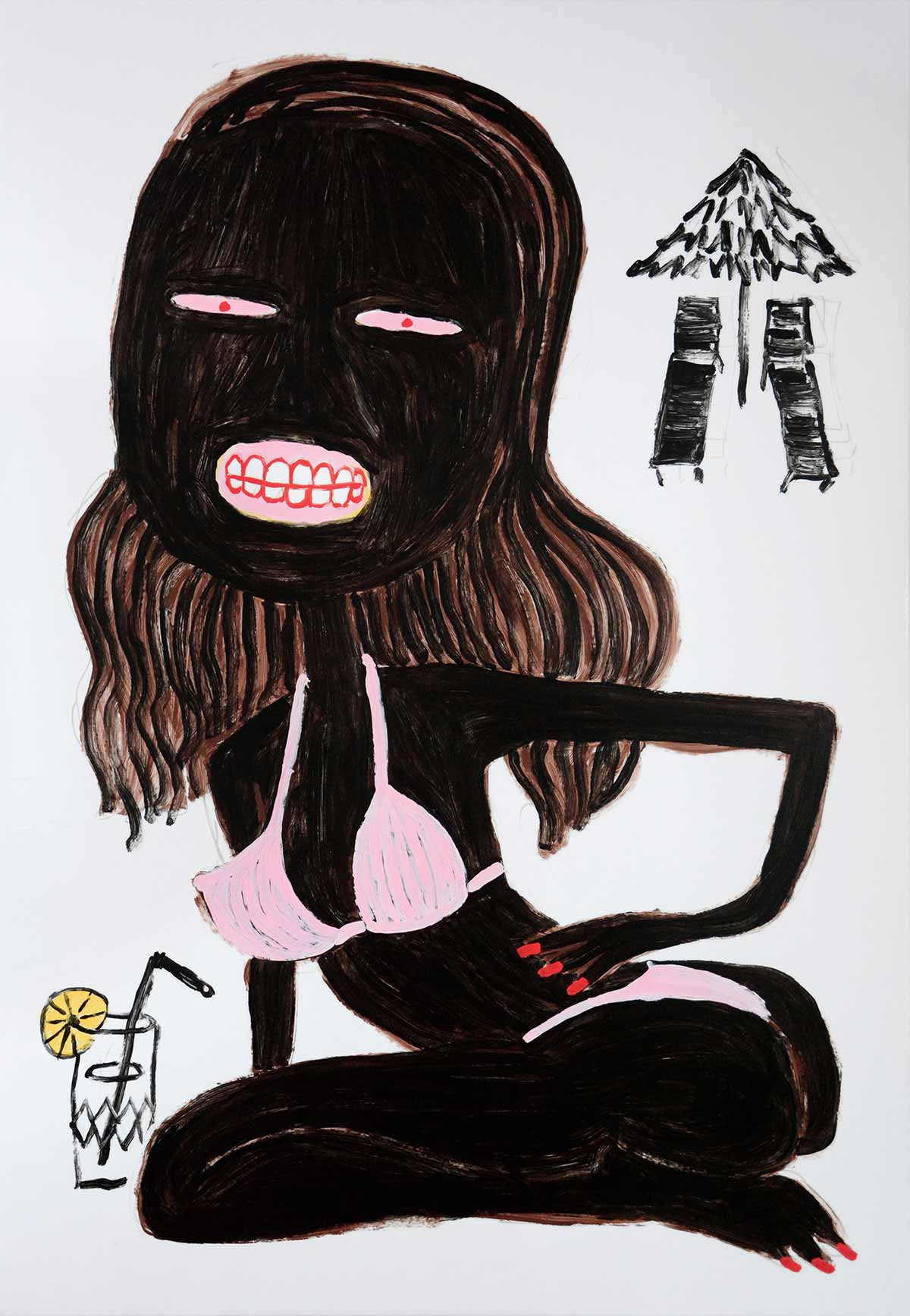 scenarios, available art works, buy art online, safe, easy, john armleder