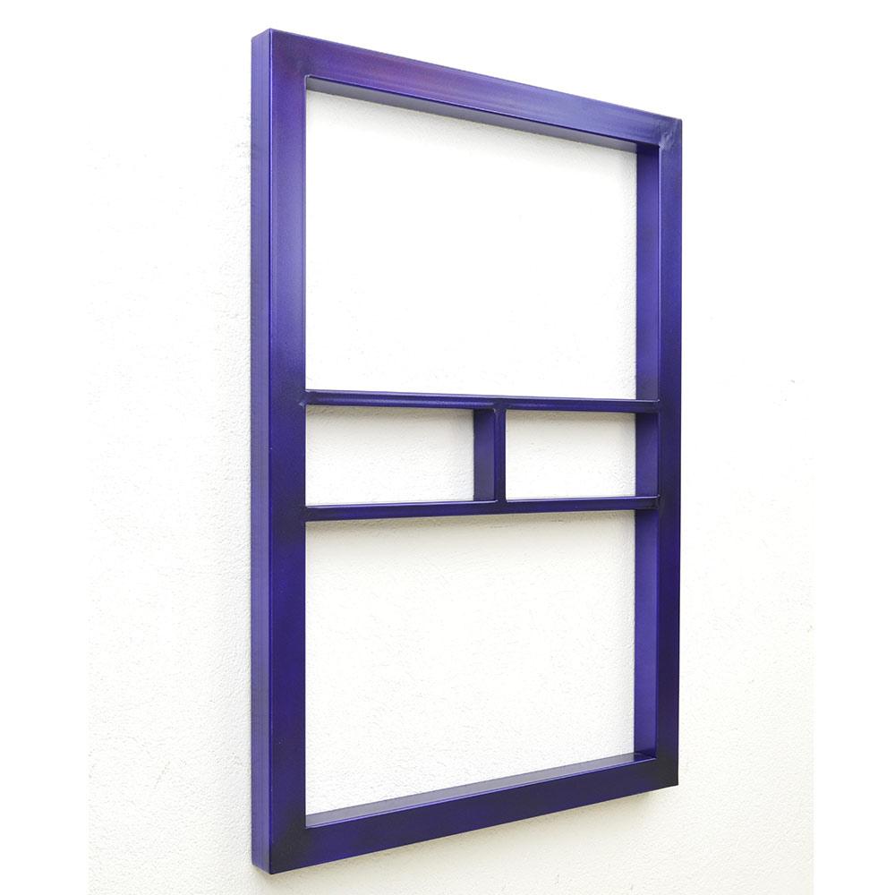 minimal art, available, purple, wallpiece, sculpture
