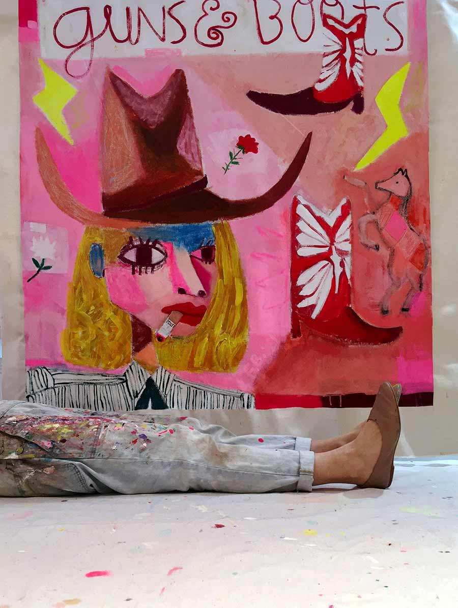 Illustration, art institute of boston, bfa, playful artworks, original, unique
