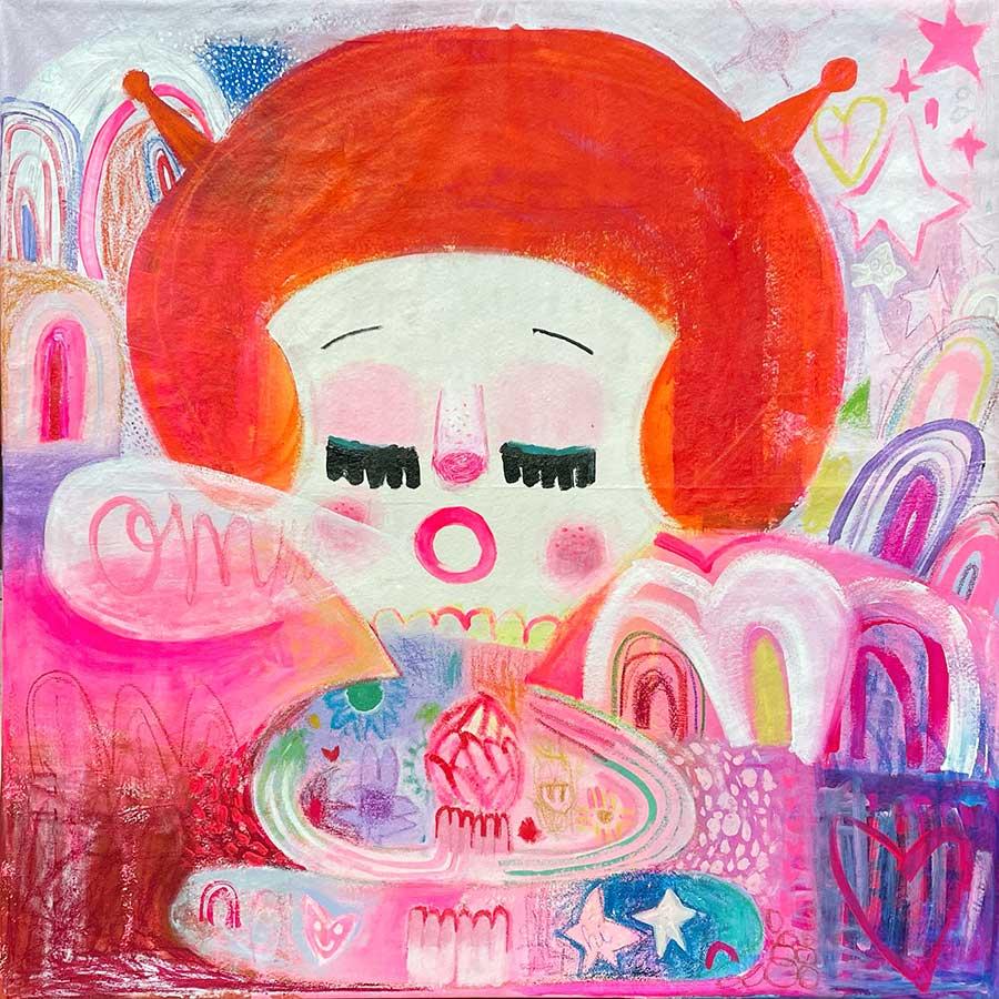 contemporary american painting, hand made, online art platform, instagram,
