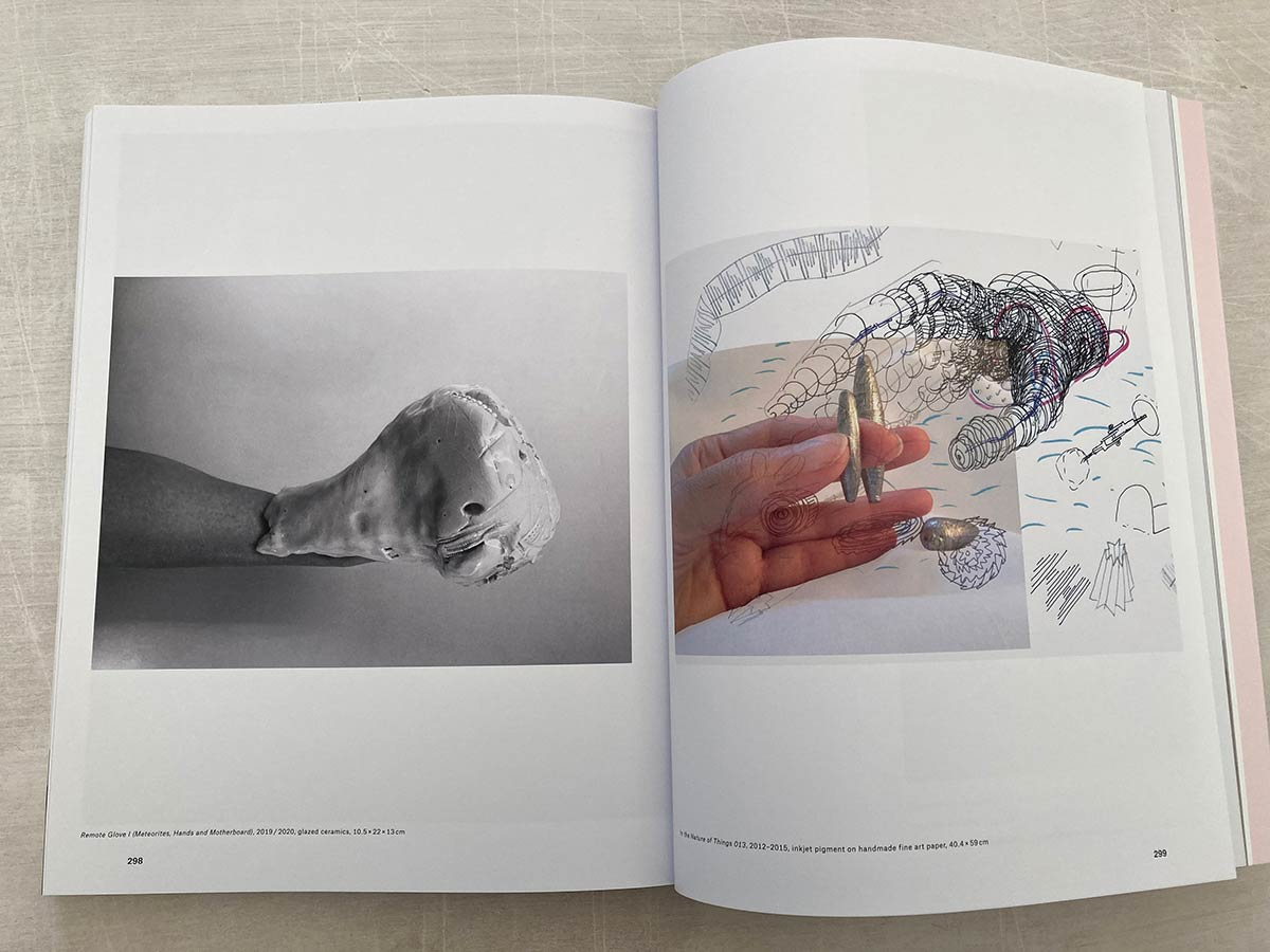 book, vitrines, india, female artist, a series of works, table, glass,
