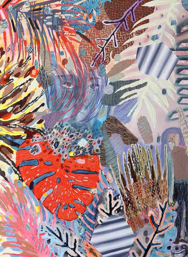 art news, visual art, bright colors, wall artworks, pattern, abstract