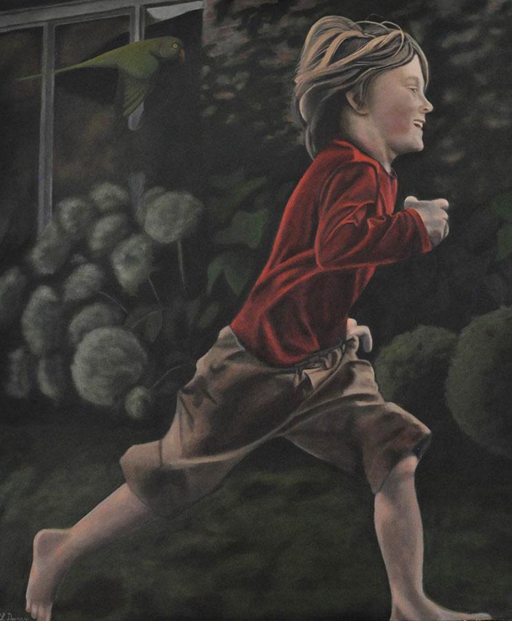 belgian, artist, oil-painting, oil on canvas, featured artist, munchies art club