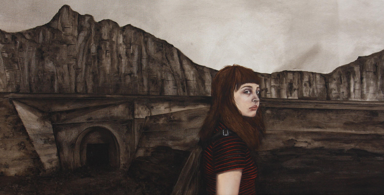 blu, booming art fair, werewolves, bologna, weird paintings, strangely beautiful