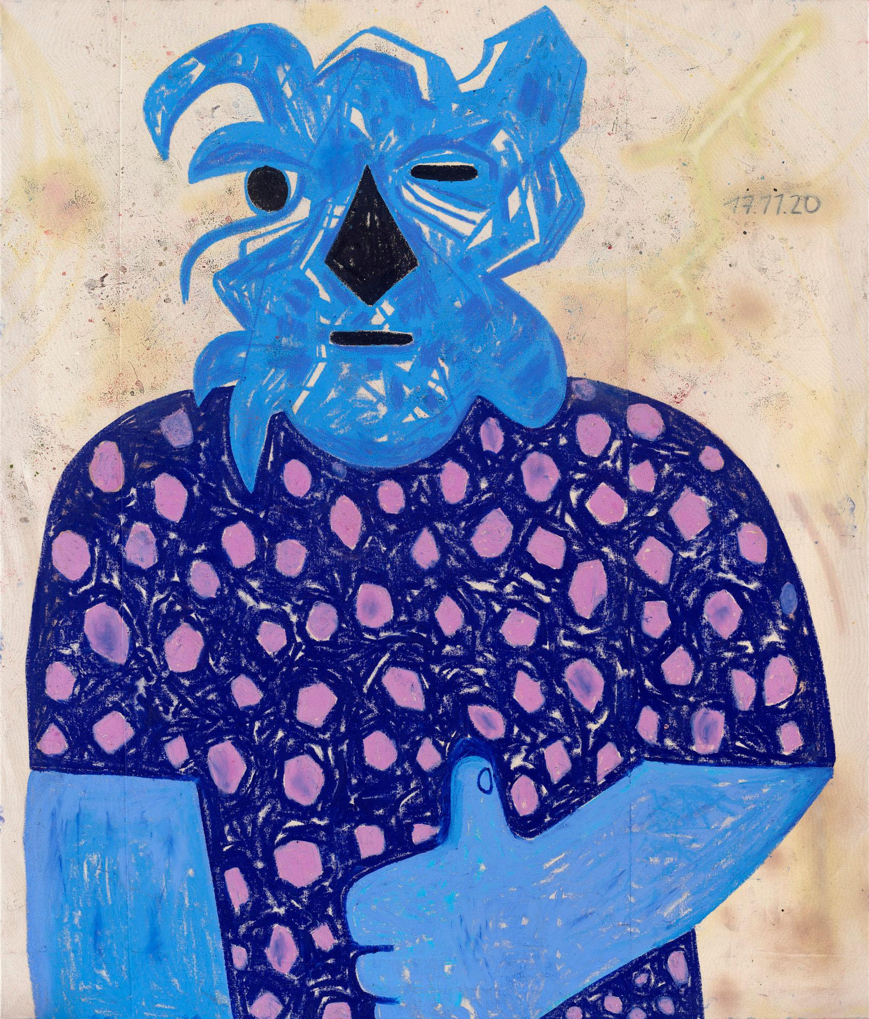 french contemporary painter, photographer, curator, graffiti artist
