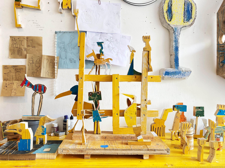 ernst koslitsch, spark art fair 2021, gallery raum mit licht, contemporary sculpture, emerging artist