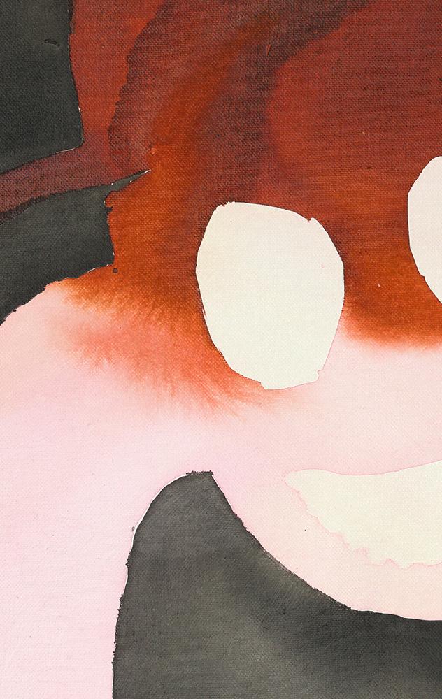 detail, horse painting, domino exhibition, vienna, raum mit licht