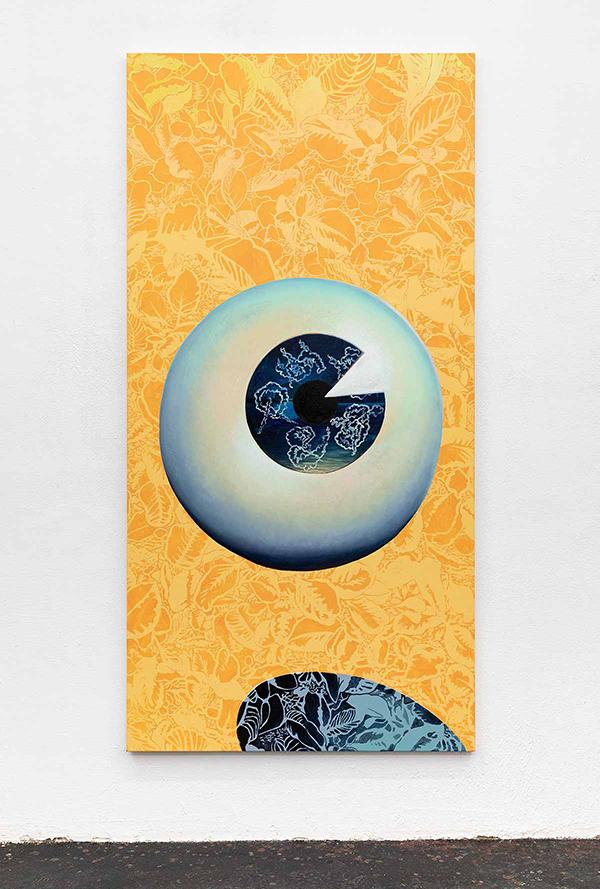 online art exhibition on view, contemporary female artist
