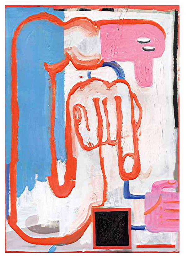 nina vandeweghe, expressive illustrative, artworks, cartoonish style, naive art, available work