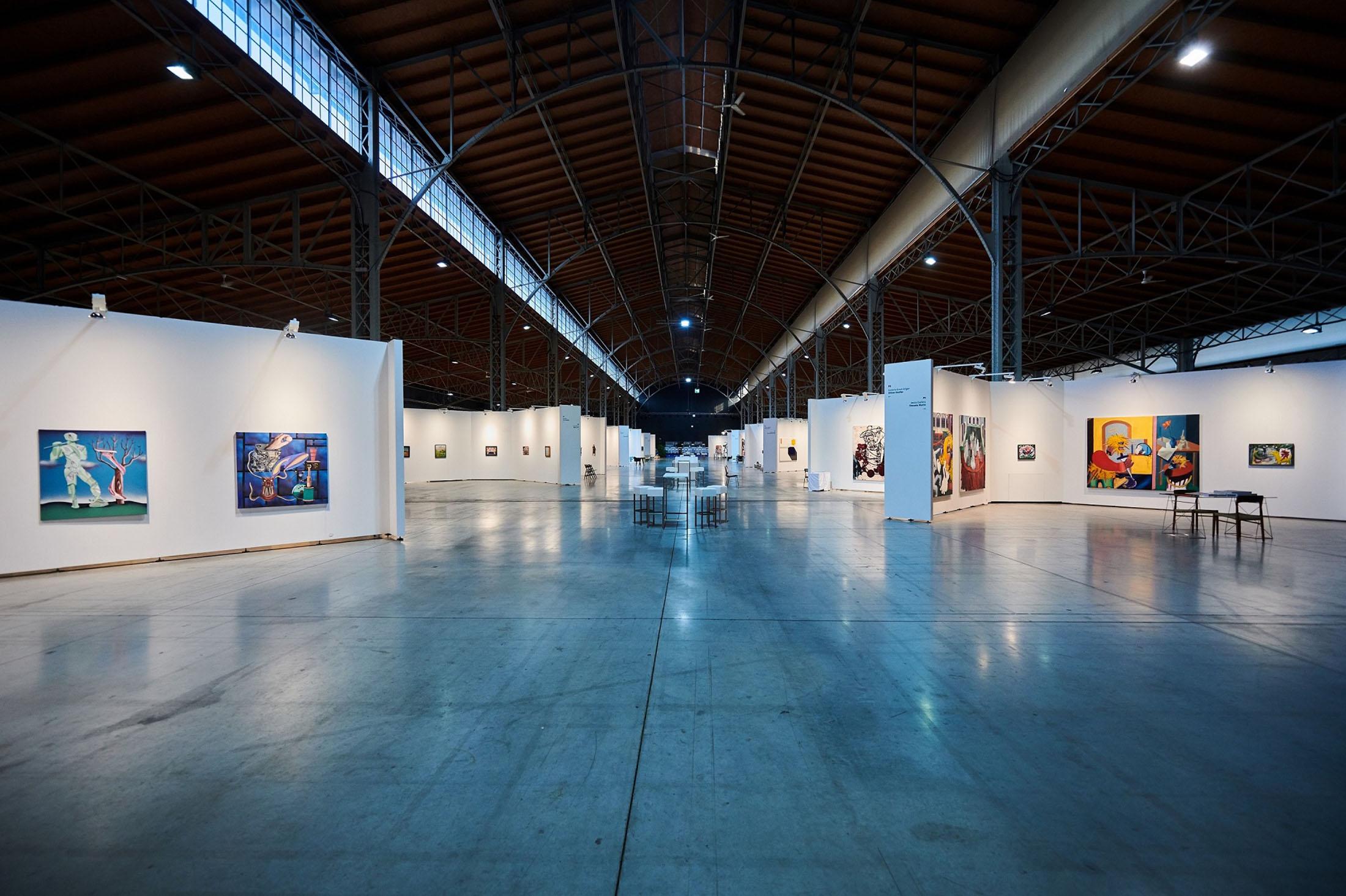 spark art fair, contemporary artists, international galleries