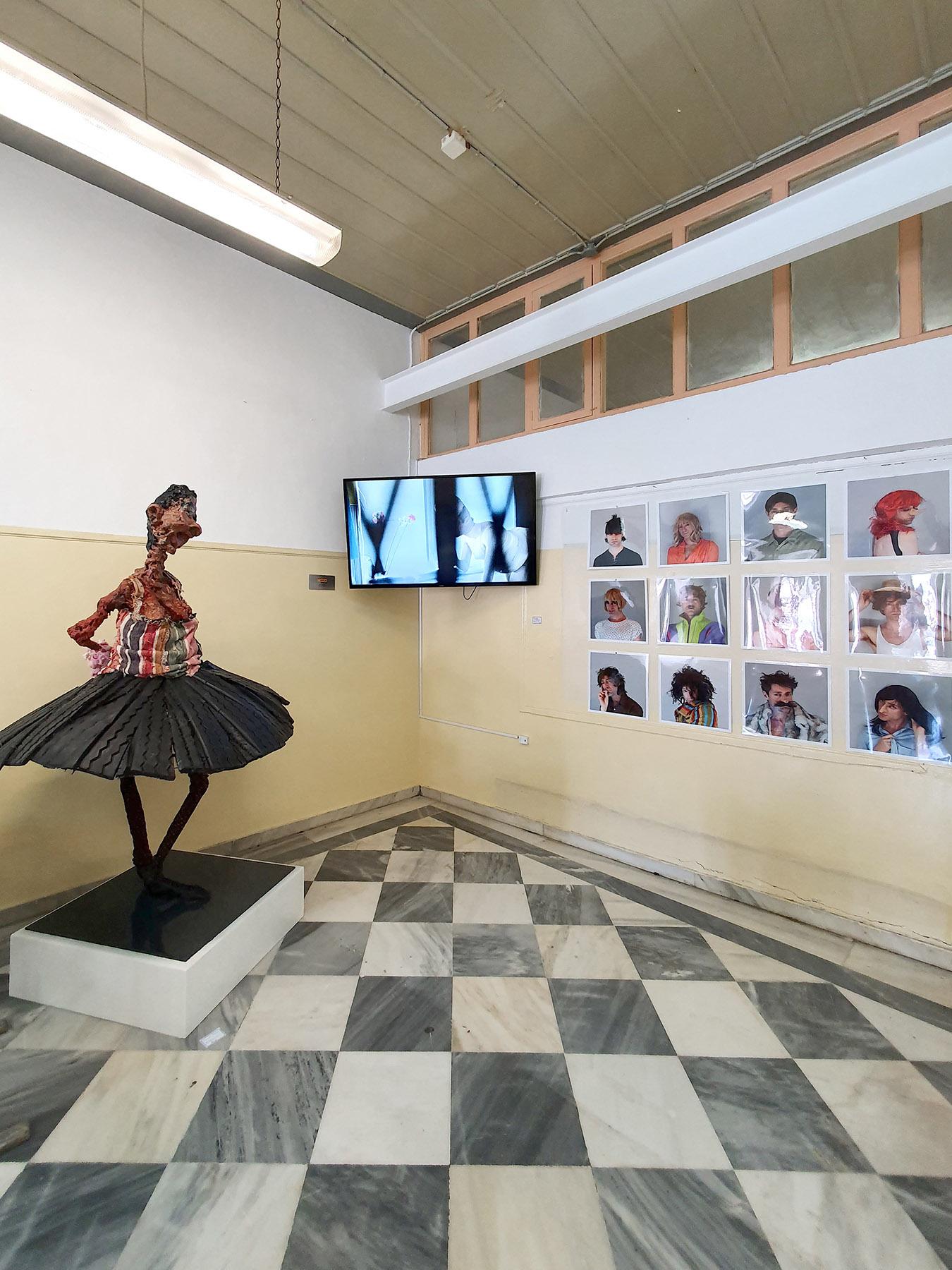 hauser und wirth, mike kelley, american artist, sculpture, installation, greek island