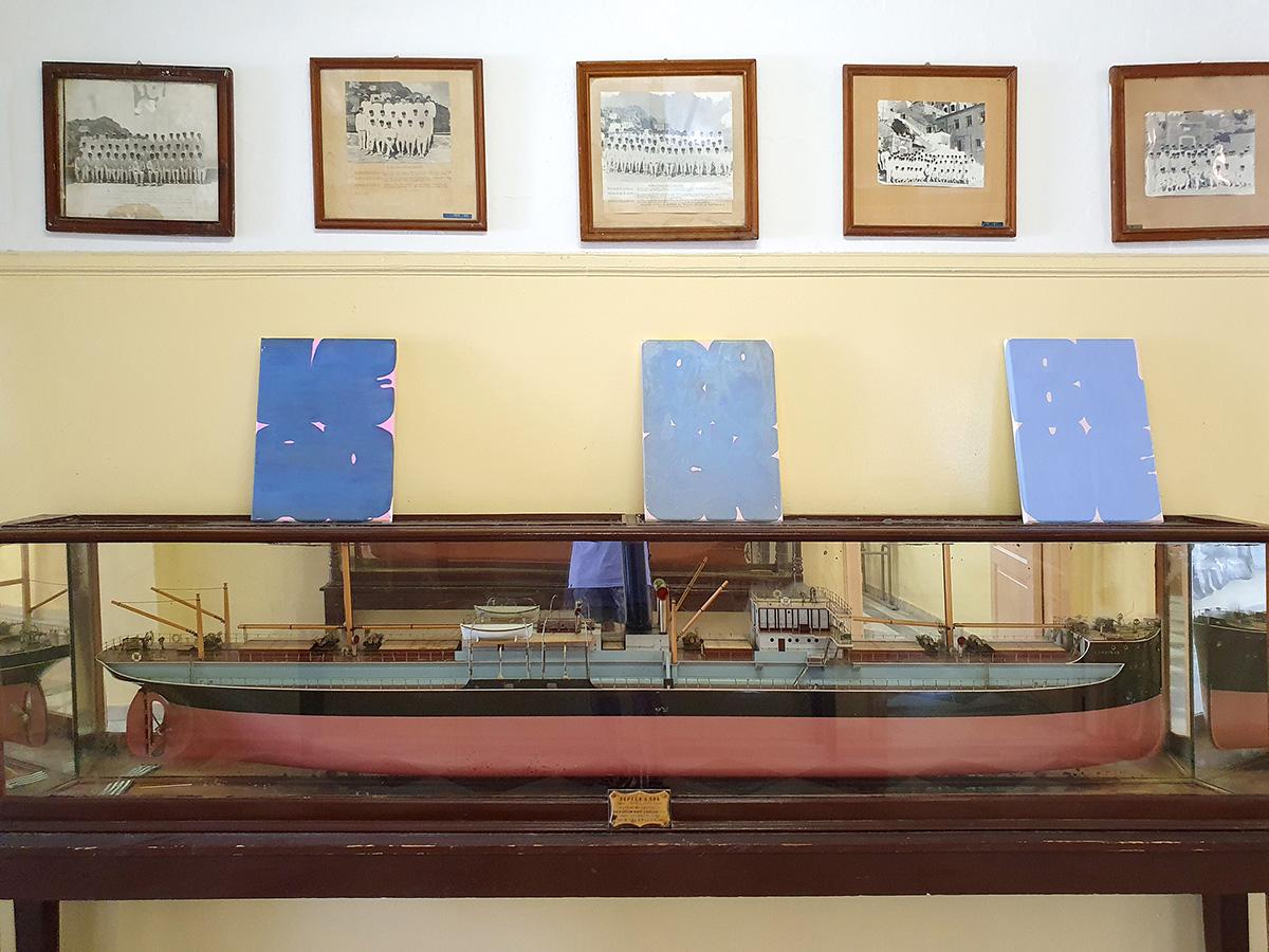 merchant marine academy, hydra island, saronic, sea, vacation, culture