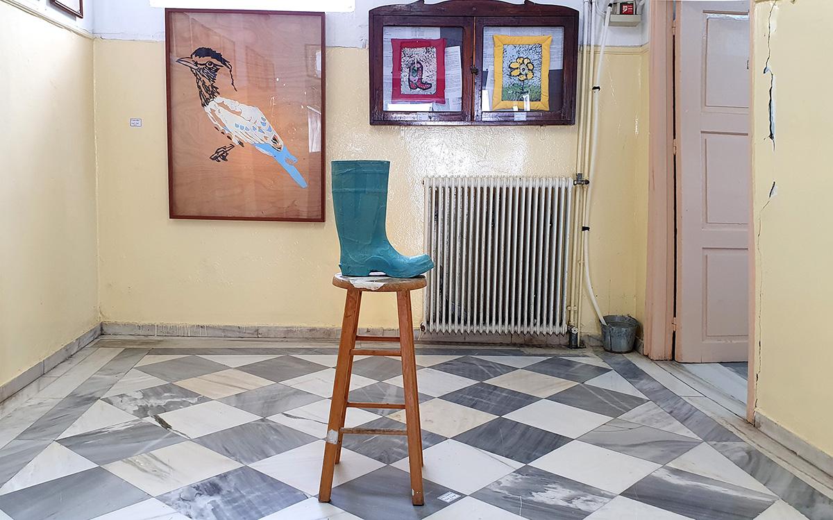 framed artworks, art lovers, leonard cohen, dimitri antonitsis