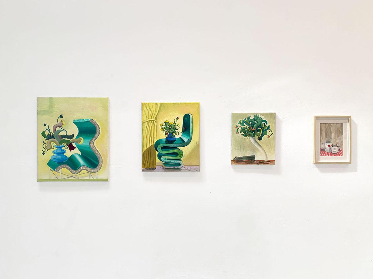 decorate wall, hanging framed artworks, interior design