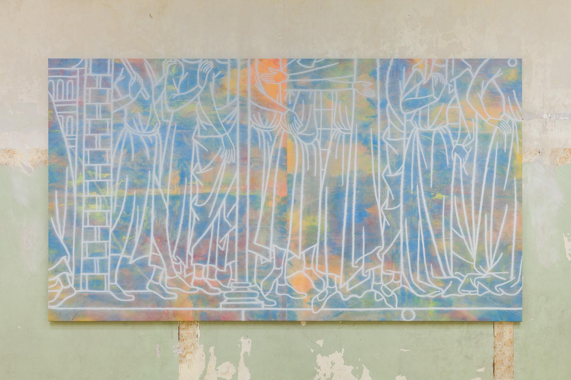 miriam stoney, aljoscha ambrosch, exhibition, duo show, international art