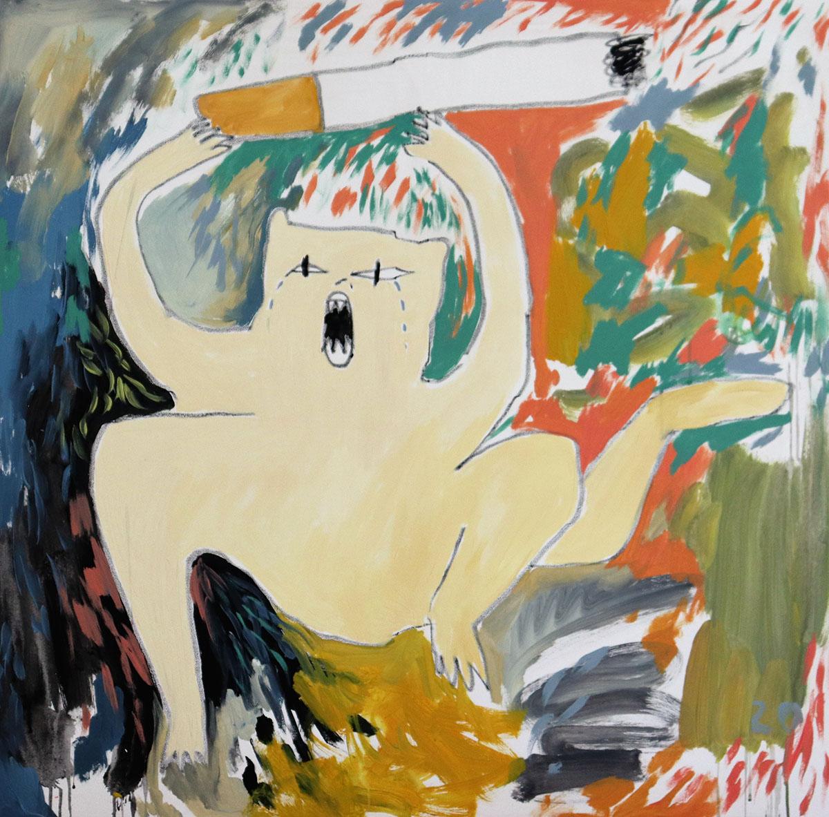 young female artist, female, emerging, spotlight, art news,