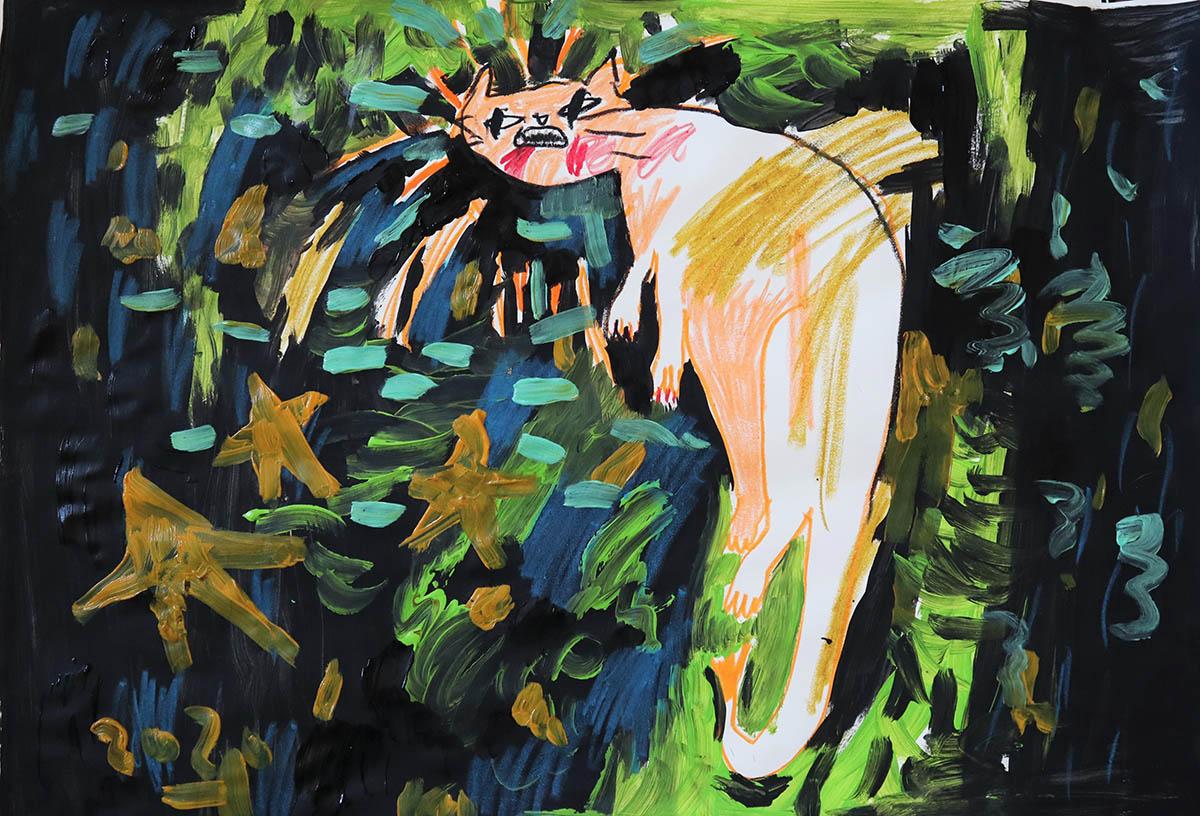 success, painting, pastel drawings, bedroom art, children's room art,