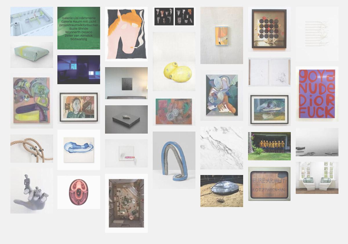art news, art fairs, 2021, participating artists, images,
