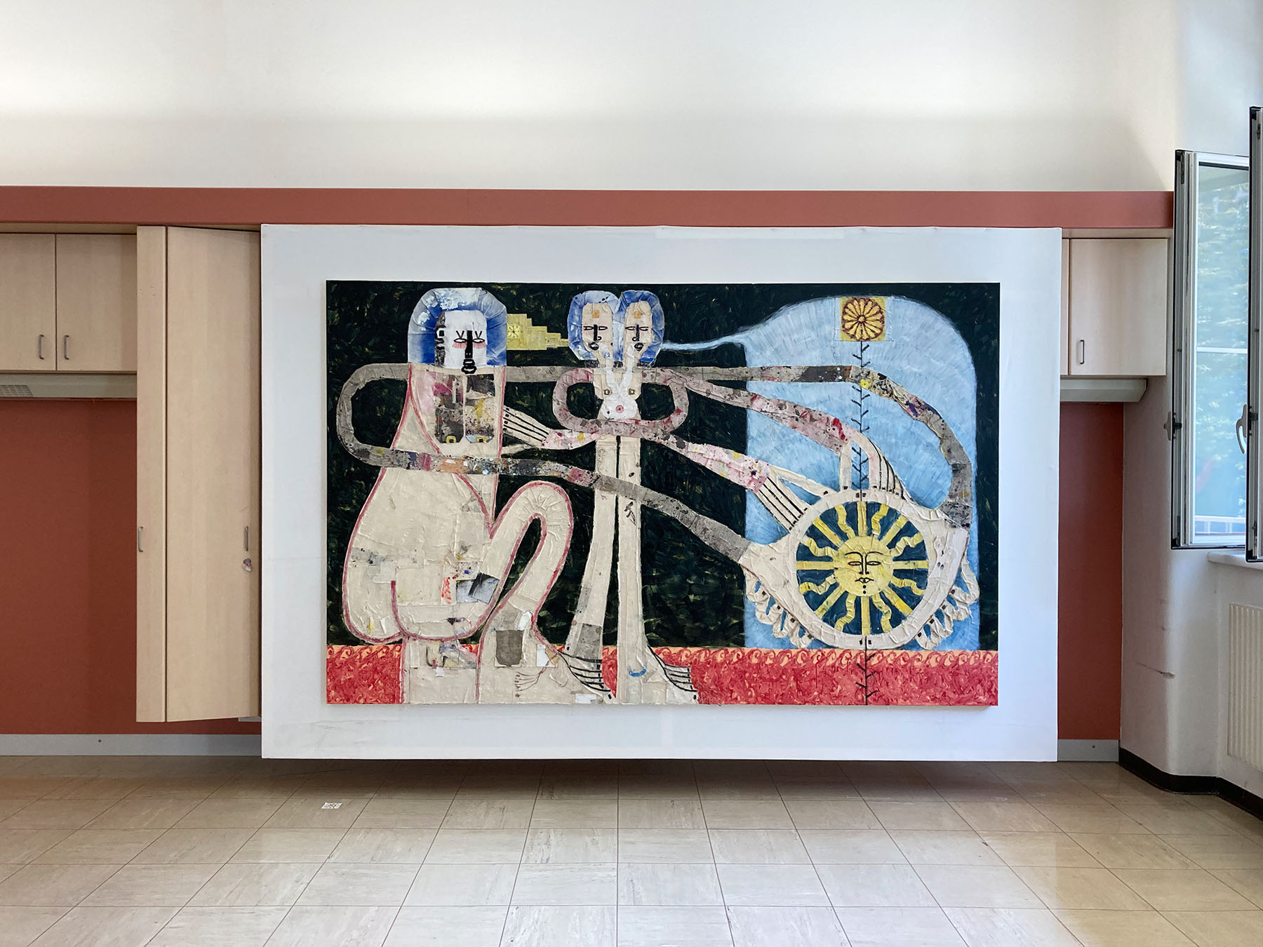 adrian hazi, elektrohalle rhomberg, gallery statement, germany, parallel art fair