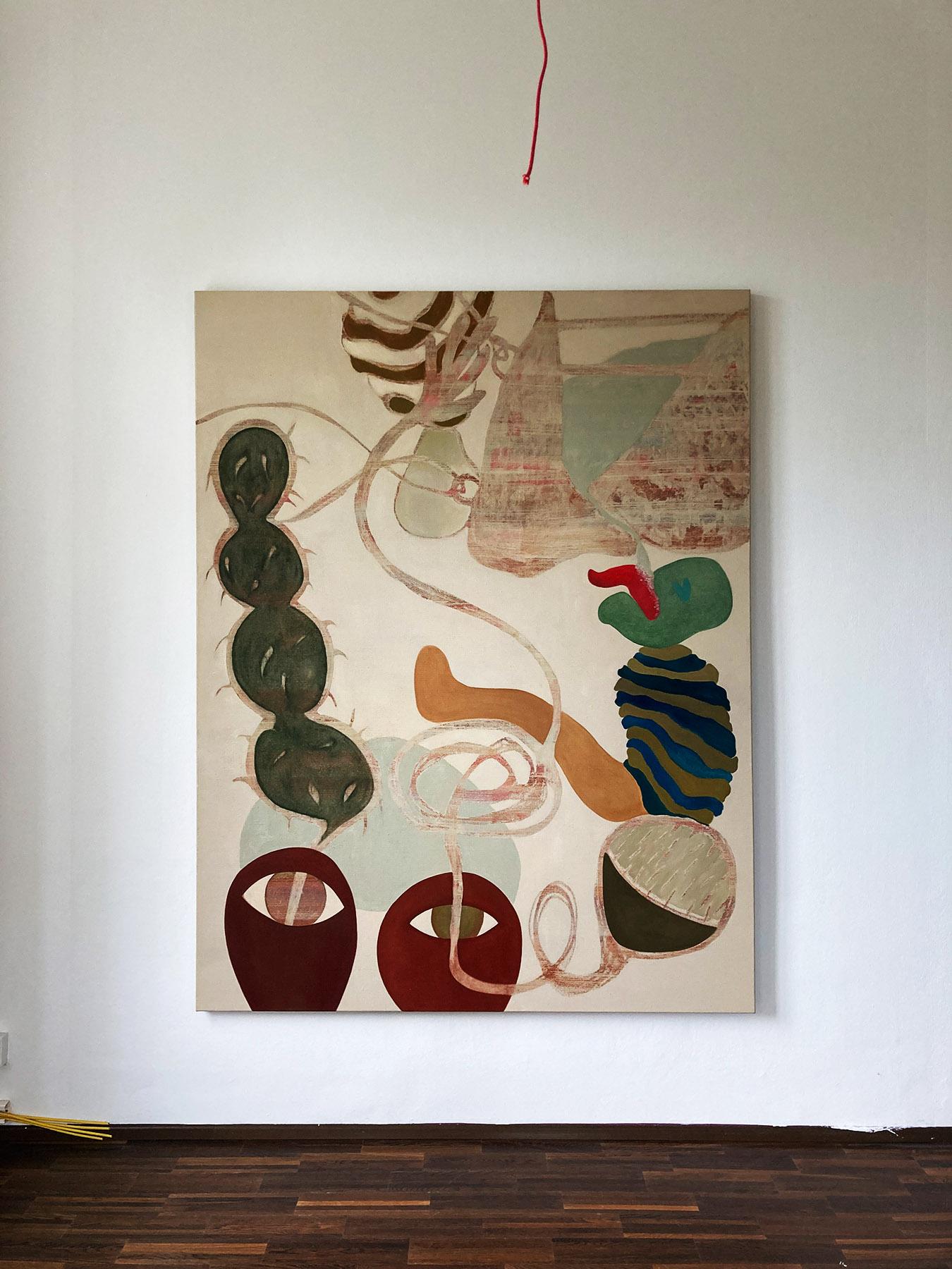 katharina spielmann, charim gallery, vienna, painting, female art, art to collect