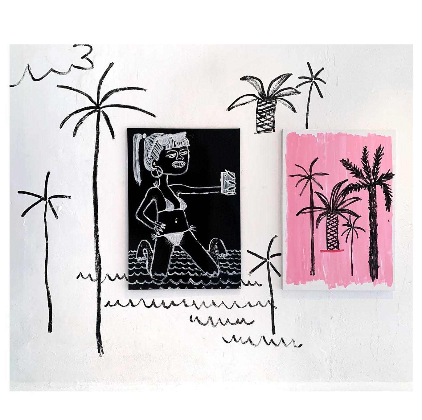 gallery weekend, barcelona, spain, visit katharina arndt and gabrielle graessle