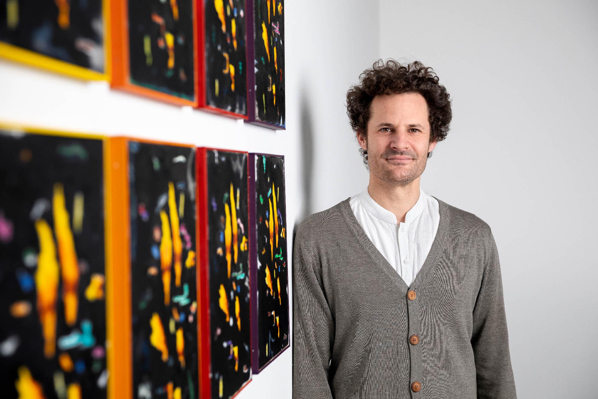 philip mentzingen, paintings, munchies art club, homer, simpsons