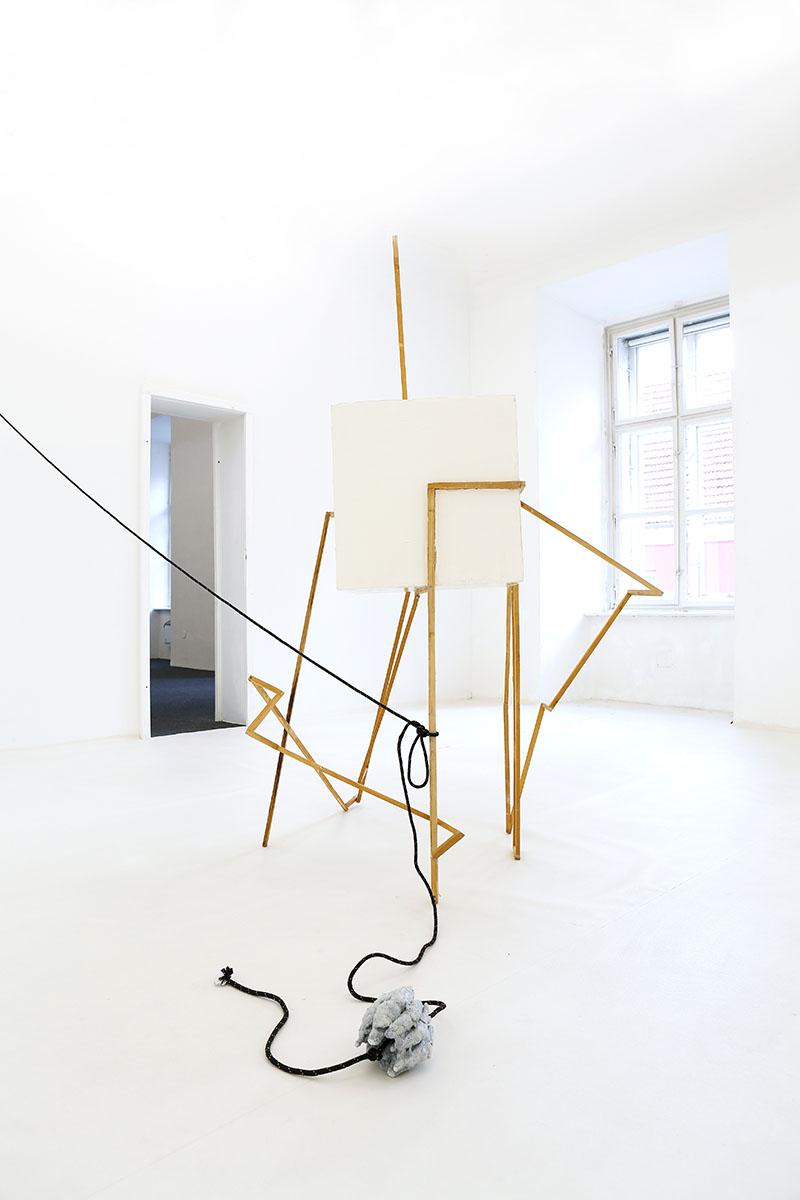 martin bischof, artist, kunstverein eisenstadt, exhibition view