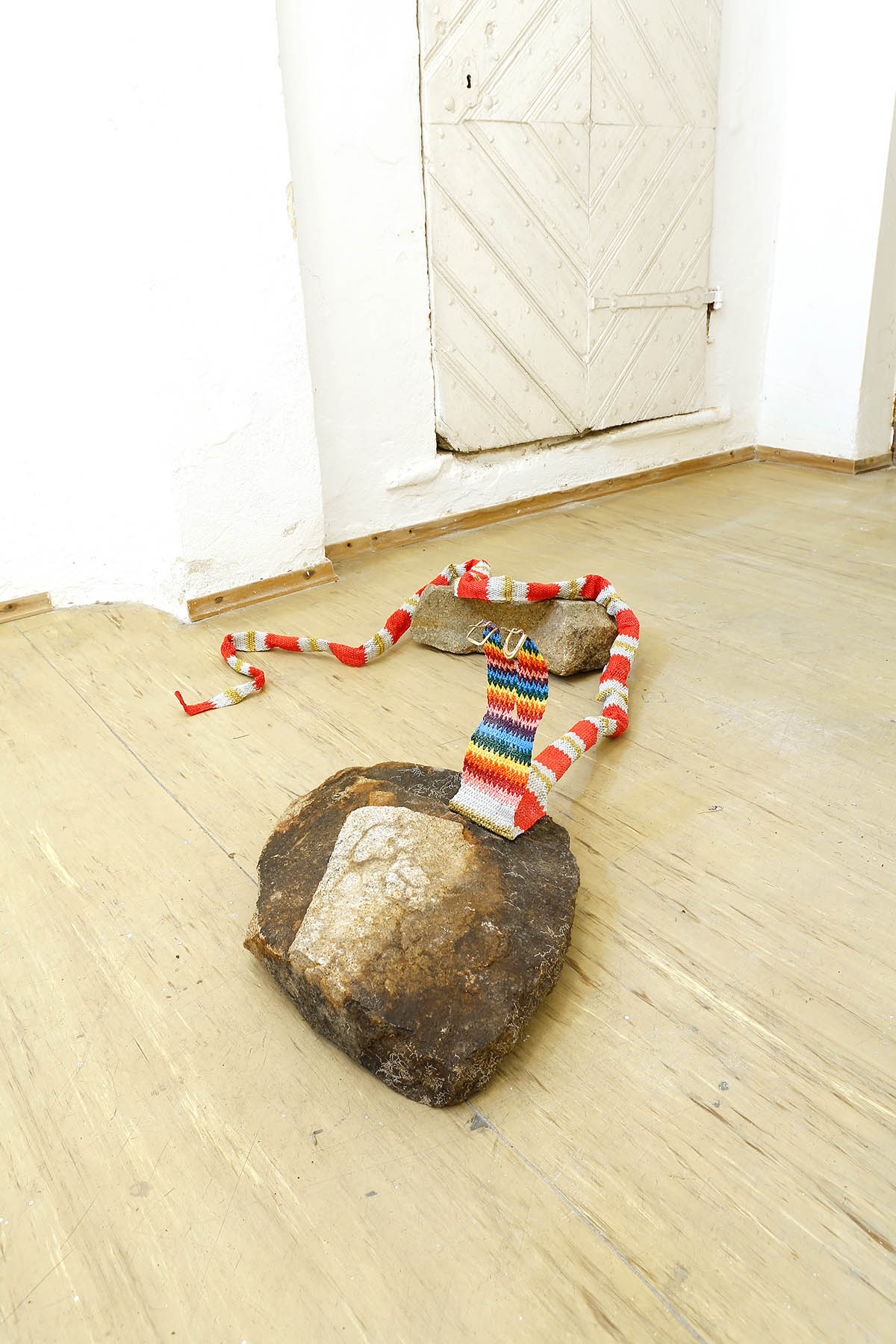 nilbar gueres, artist, snake, installation, contemporary art