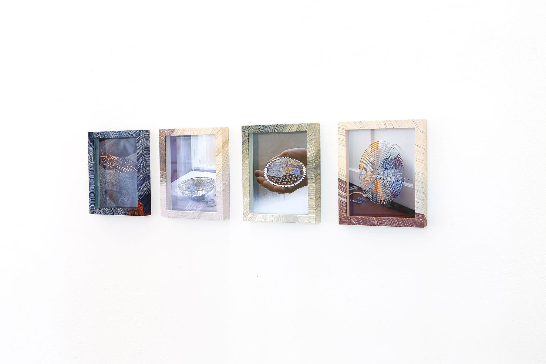 julia grybos, barbora zentkova, artist, barsuglia, images on wall, white,