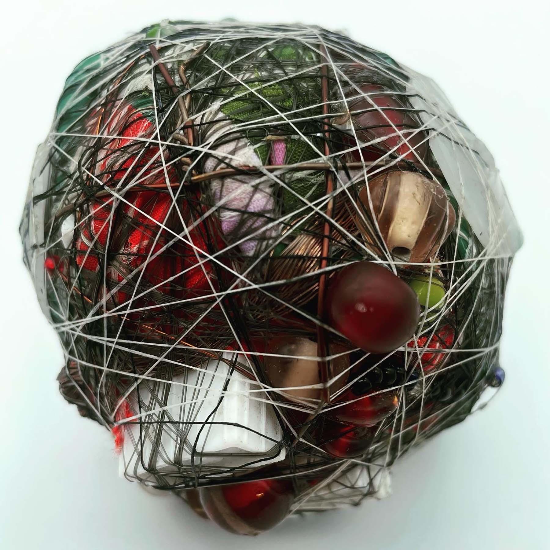 raw materials, , junk balls, vinyl toys, beach, frank kozik, old, outsider art, recycled, wrapped art
