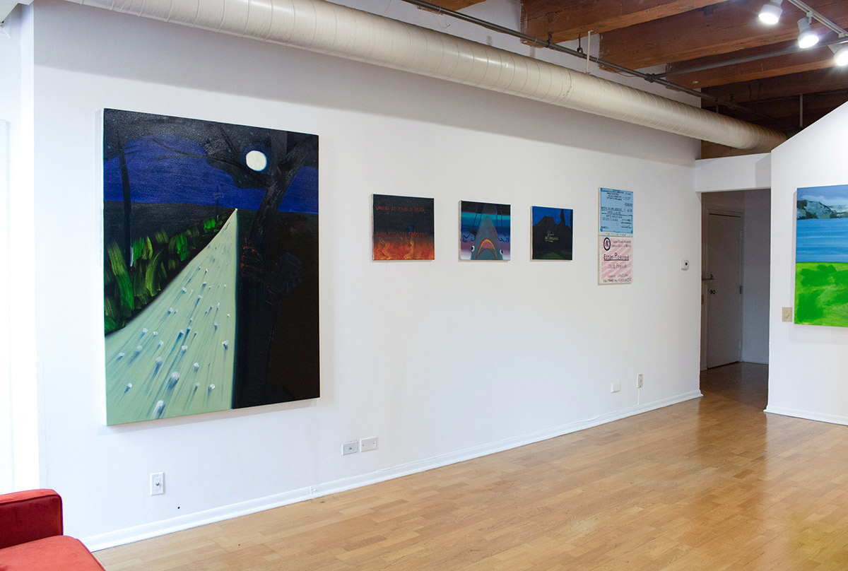 current exhibition, view, installation shoot, sulk gallery
