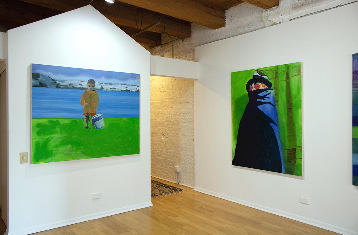 jake fagundo, artist, emerging, current exhibition at sulk chicago gallery