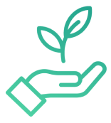 Icon ecological positive