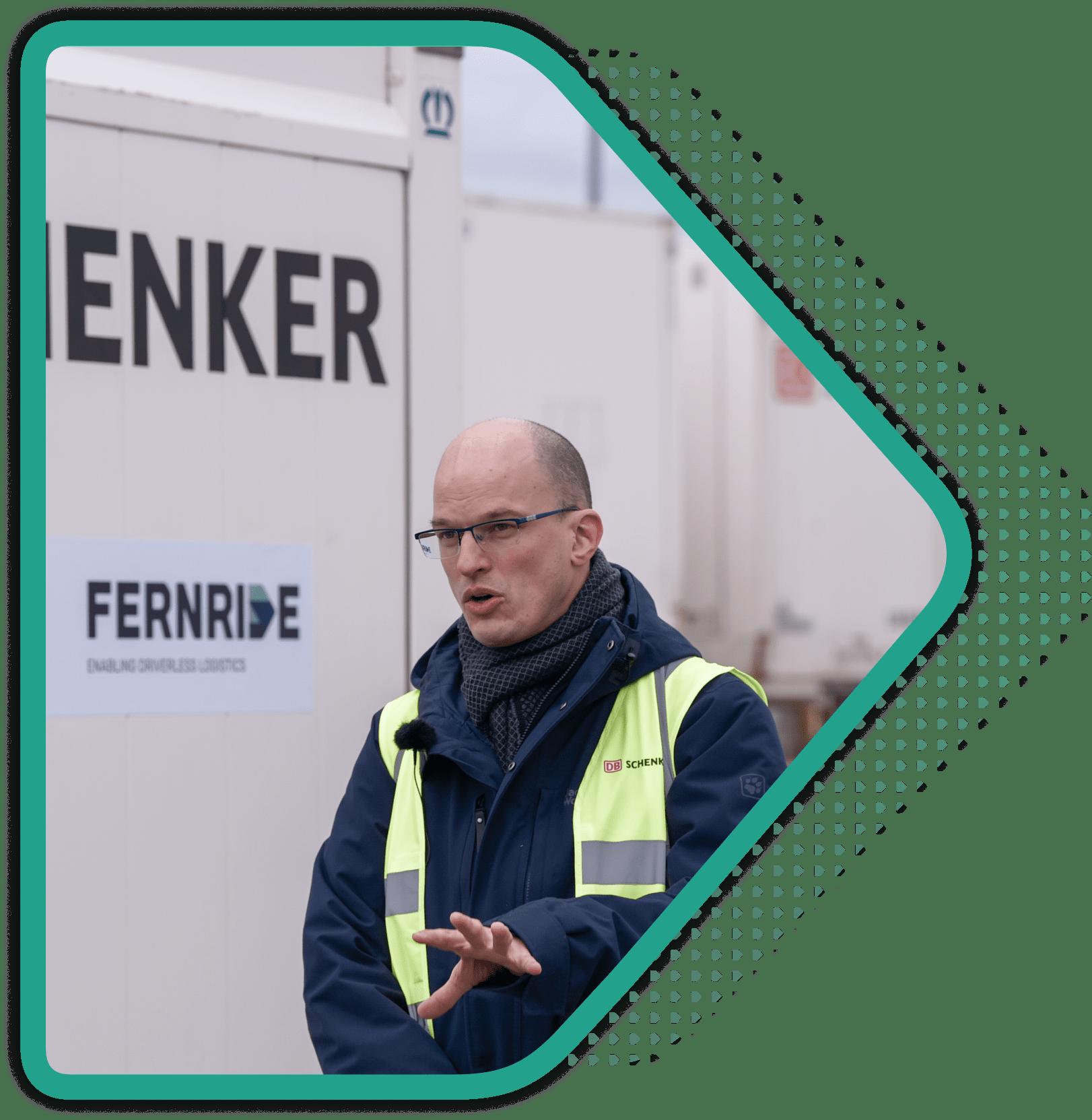 Image of Christoph Herchenhein from DB Schenker
