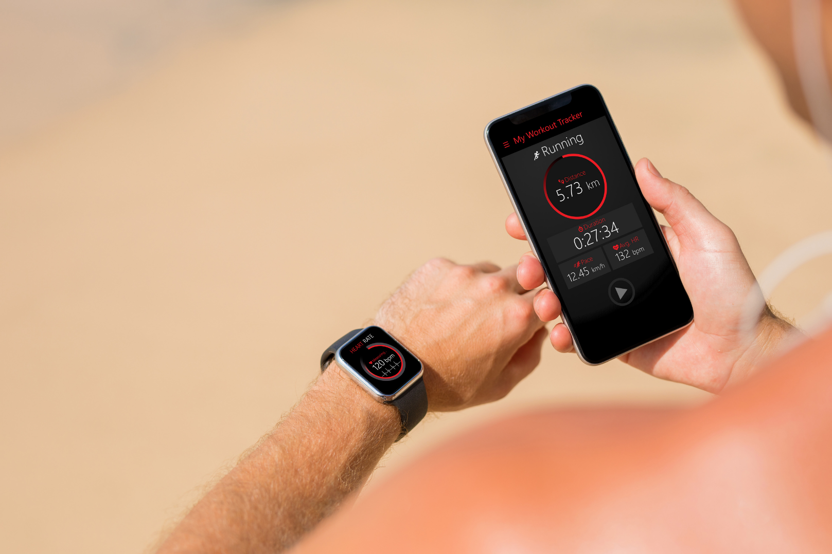 Tracking distance run and other fitness metrics using wearable fitness technology