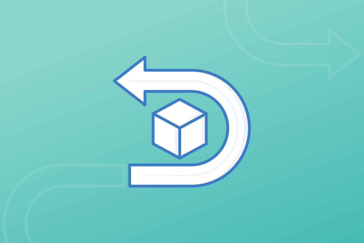 Return management process icon