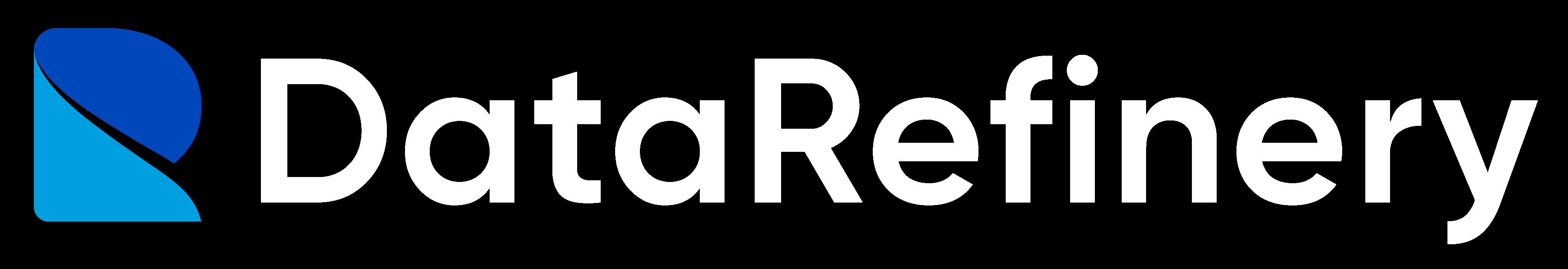 Data Refinery logo white