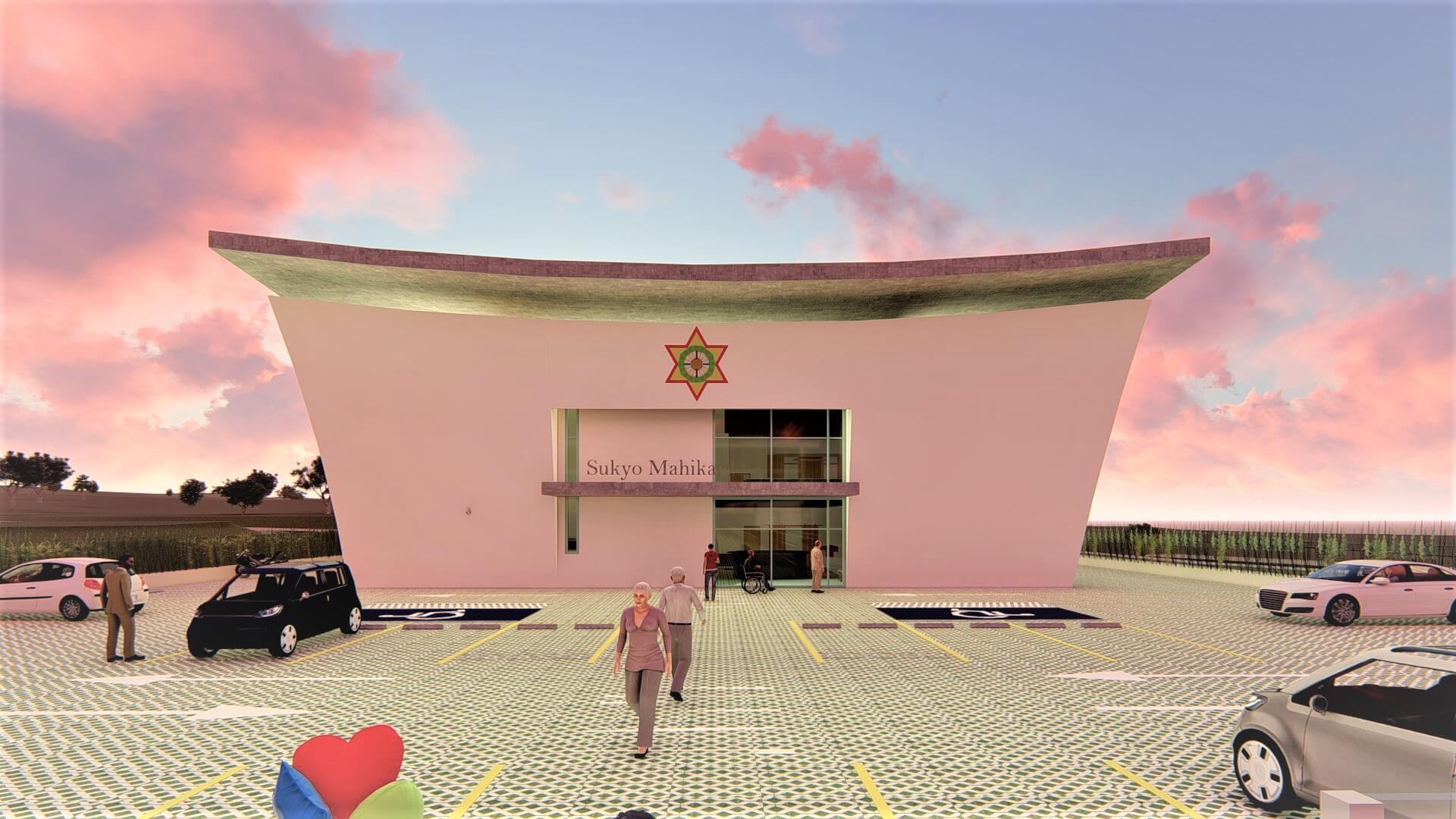 Templo Mahikari projeto