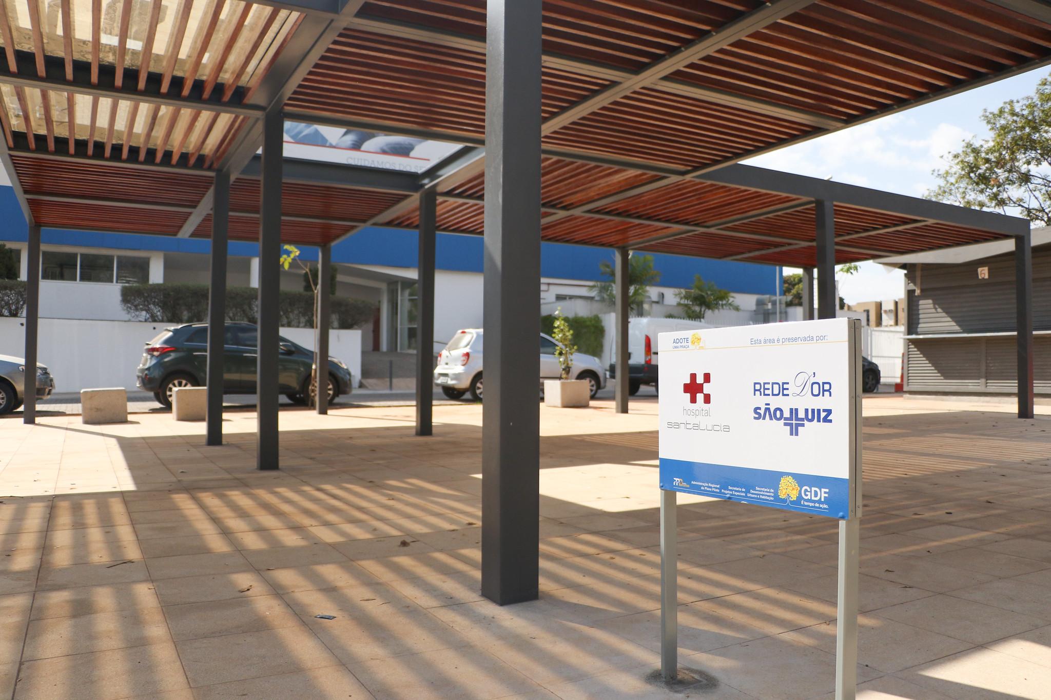 praça setor hospitalar urbano brasilia