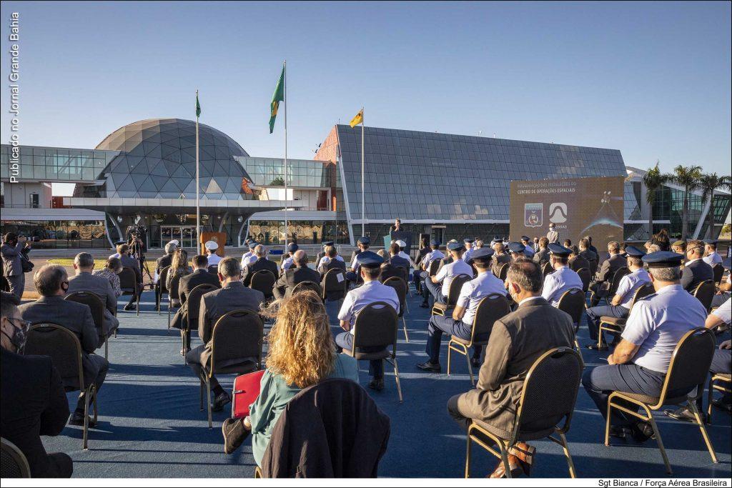 imagem do dia de inauguração do data center telebras - COPE