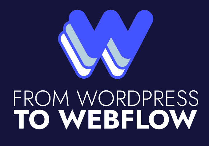 From WordPress To Webflow logo