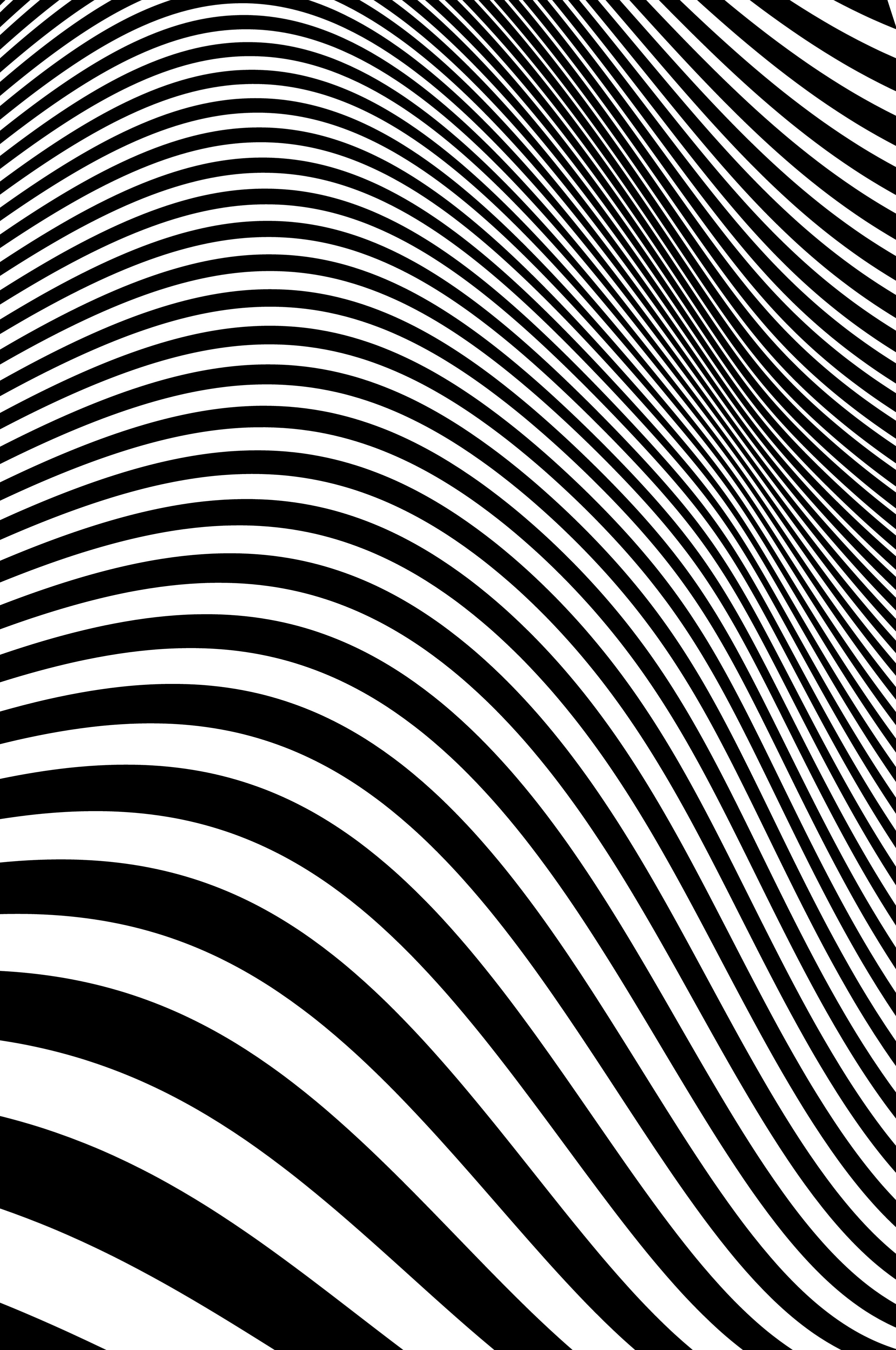 Undulating wave image
