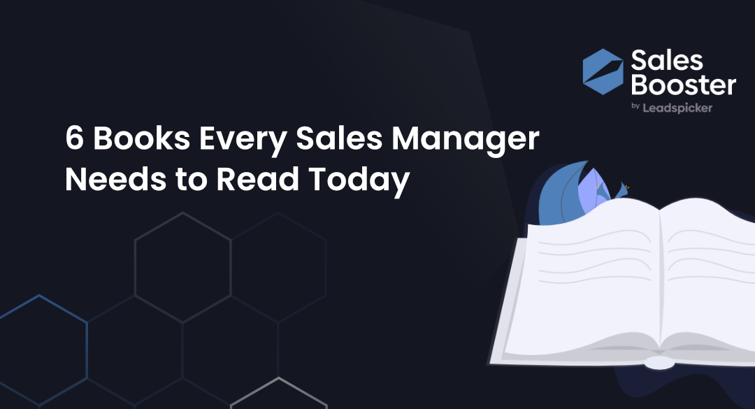 6 Books Every Sales Manager Needs to Read Today